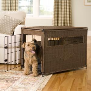 La caisse pour chiot conseils pour son ducation partie - Panier pour chien fait maison ...