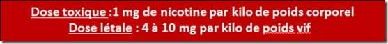 dose toxique